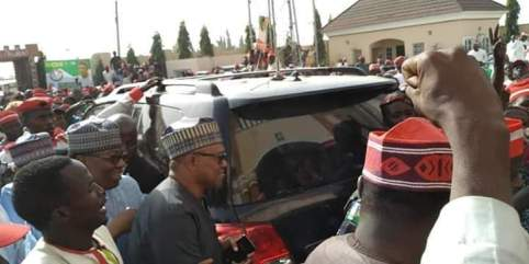 Photos Of Peter Obi As He Arrives In Kano