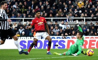 Watch Premier League Highlights - Newcastle United vs Manchester United (0-2)
