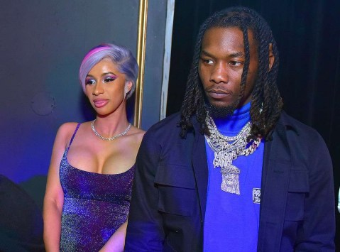 Cardi B And Offset Reunite At Super Bowl Party