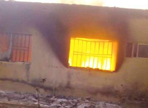 Fire Destroys Election Materials In Anambra