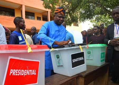 Governor Ambode Of Lagos State Wins Polling Unit For Buhari, APC