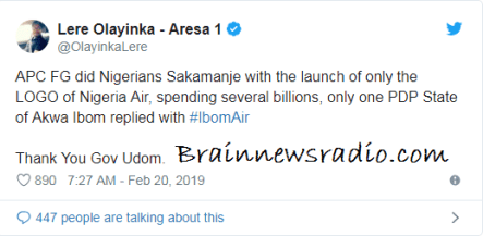 "Ibom Air: ""Where Is Nigeria Air?"" Nigerians Mock Buhari On Social Media"