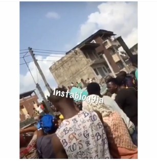100 Trapped As School Building Collapses In Lagos, Many Pupils Dead