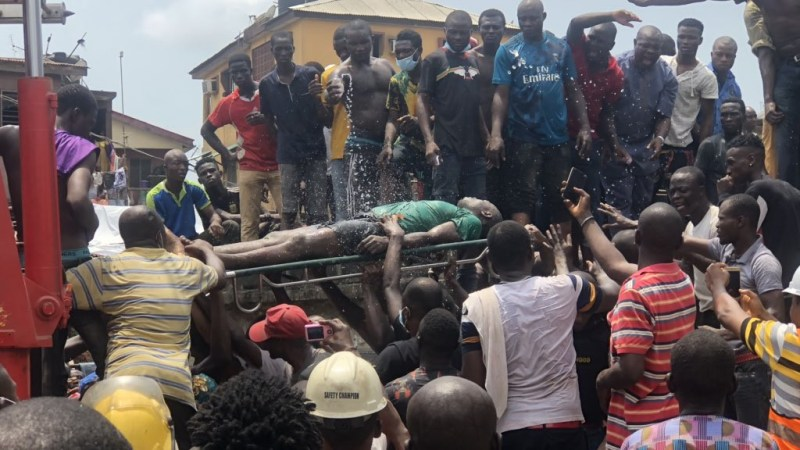 Building Collapse - Woman Commits Suicide After Losing Two Children In Lagos