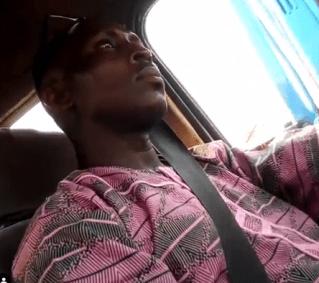 Commercial Bus Driver Caught On Camera Masturbating In Lagos