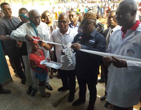 Cross River State Governor Ayade Commissions Ultra-Modern Toothpick Factory