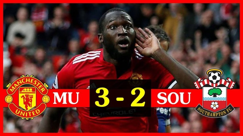 EPL Video Highlights: Man Utd Vs Southampton (3 – 2)