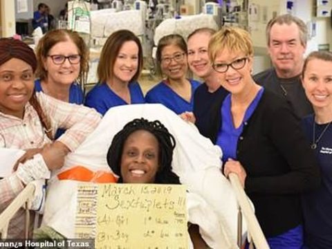 Woman Delivers 6 Babies In Just 9 Minutes