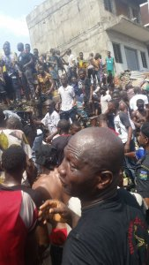 Woman Loses Five Kids In Lagos Island Building Collapse