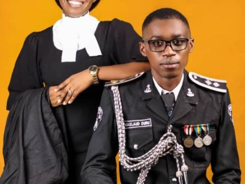 Young Senior Police Officer And A Young Vibrant Lawyer Stun In Their Pre-Wedding Photos