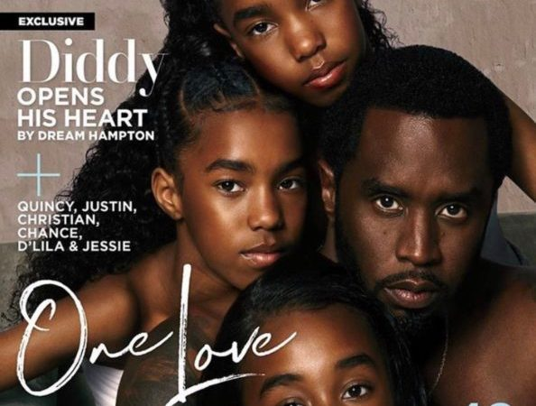 Diddy, His Kids Cover Essence Magazine