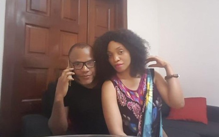 Nnamdi Kanu Reacts After Leaked Intimate Video Of Him And His Wife