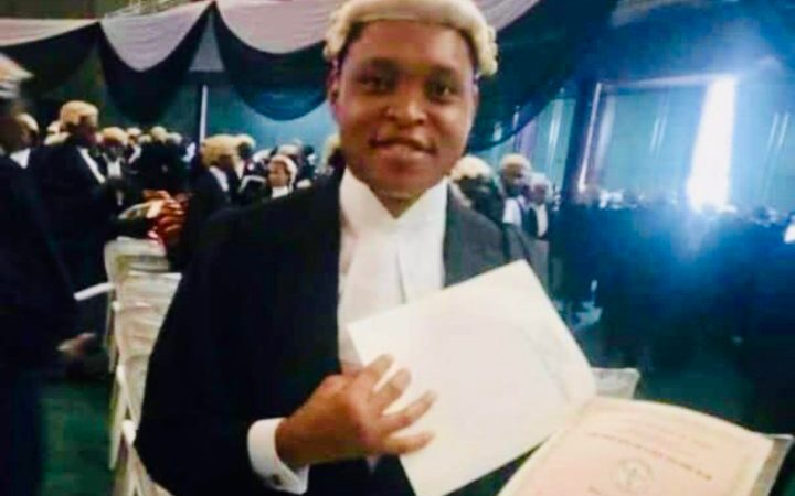 Photo Of A Lawyer, Corps Member Who Died After Falling Off 'Danfo' In Lagos