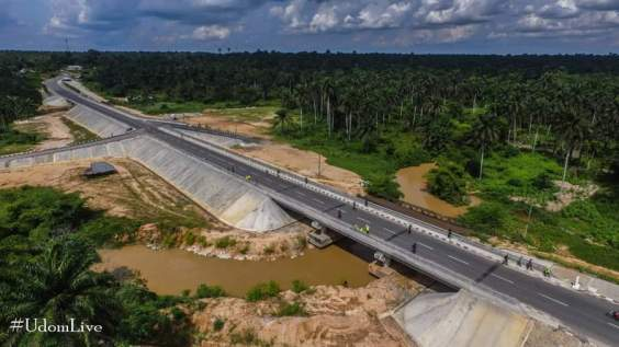 Akwa Ibom Governor Udom Emmanuel Completes 2 Bridges That Link Akwa Ibom State To Abia