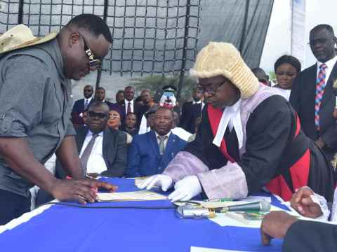 Full Text Of Governor Ayade's Speech During His Swearing In Ceremony