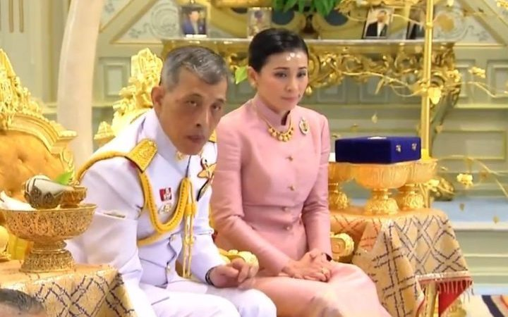 The King Of Thailand Gets Attracted To His Bodyguard, Marries Her