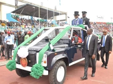 Wike's Swearing In Ceremony For Second Term