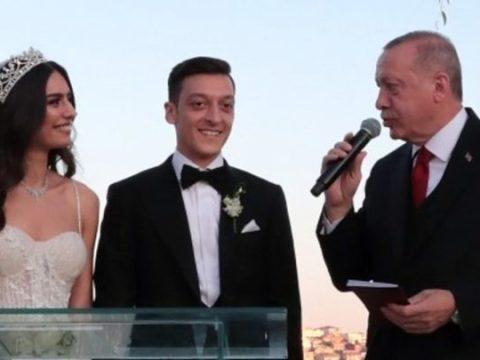 At Footballer Mesut Ozil's Wedding, Turkey President Served As BestMan