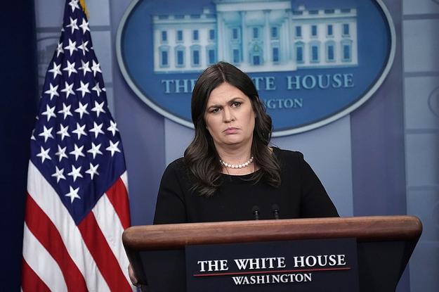 Spokeswoman Sarah Sanders To Exit White House - President Trump
