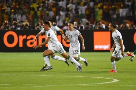 Algeria Won 2019 AFCON Tournament