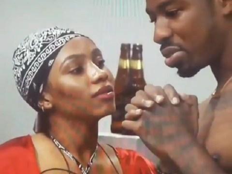 #BBNaija - Drunk Mercy Caught Flirting With Ike