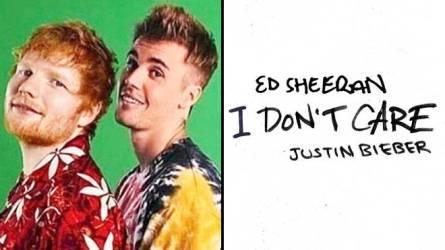 Ed Sheeran & Justin Bieber – I Don't Care