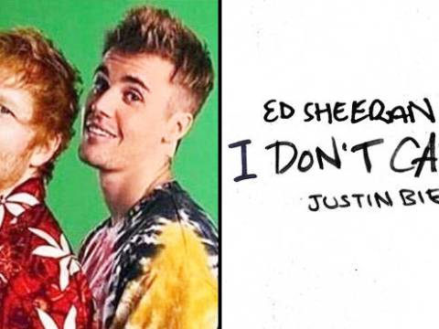 Ed Sheeran & Justin Bieber – I Don't Care