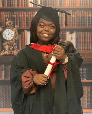 Instagram 4-Feet Model, Fatima Timbo Graduates From London University