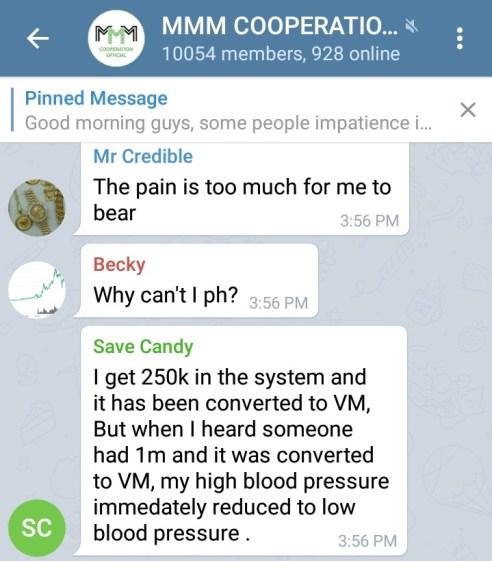 MMM Cooperation Crashes Again