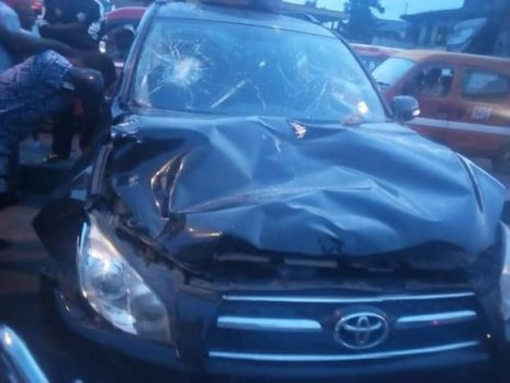 Photos As Drunk And Reckless Driver Kills Two In Akwa Ibom