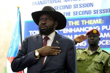 President Of South Sudan Bans Singing Of National Anthem In His Absence