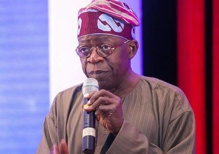 Tinubu Dissociates Self From Presidential Election Campaign
