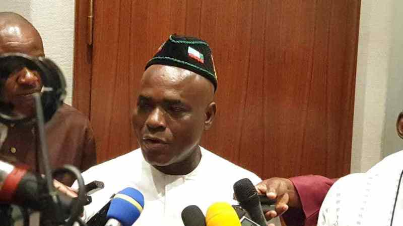 Ita Enang Dropped As Buhari's Senate Aide, Now Adviser On Niger Delta Matters To Buhari
