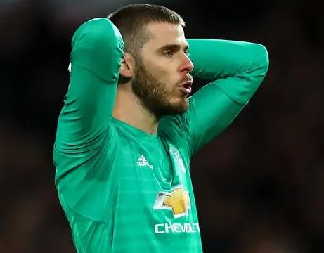 De Gea Set To Leave Man Utd