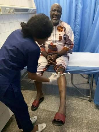Dino Melaye Injured After Gunmen Invaded PDP Primaries