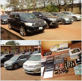 How EFCC & FBI Recovered Over N150m From Yahoo Boys
