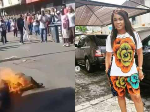 Iyabo Ojo Reacts To Video of South Africans Burning Nigerian Alive Over Xenophobia