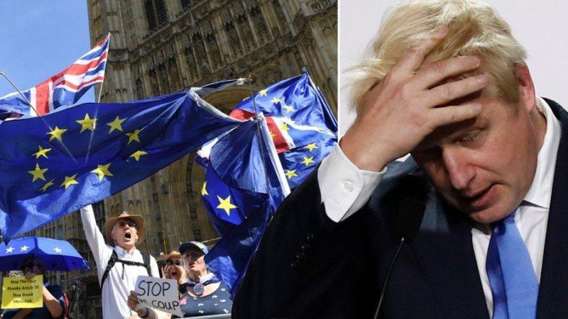 Massive Protest Rocks UK As Citizens Demonstrate Against Boris Johnson