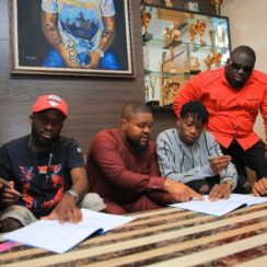 Davido Officially Signs Lil Frosh To DMW Records
