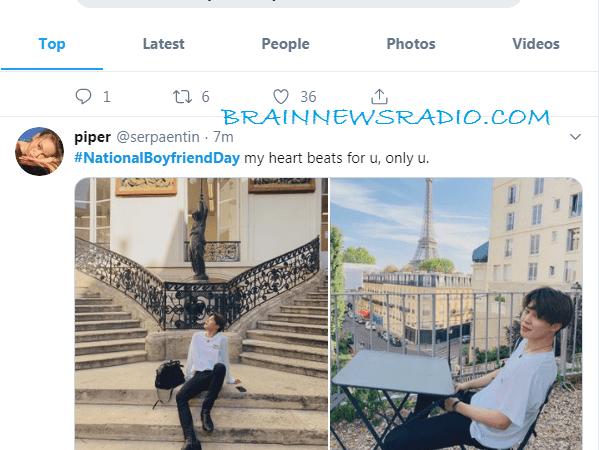 #NationalBoyfriendDay Is Trending On Twitter