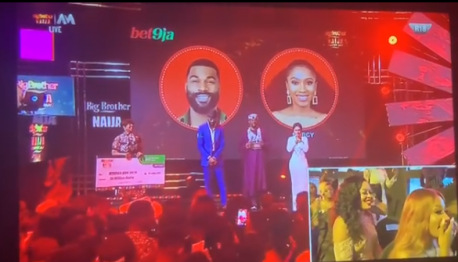 The Moment Mercy Was Announced As Winner Of The 2019 Big Brother Naija Reality Show