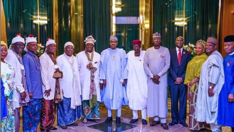 We'll Open Up Calabar To Rest Of The Country - President Buhari Tells Obong Of Calabar