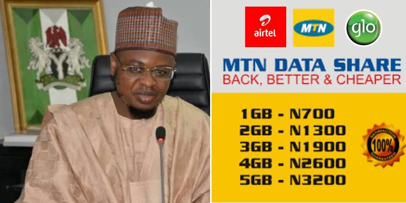 FG Extends Deadline On Reduction Of Internet Bundle Price