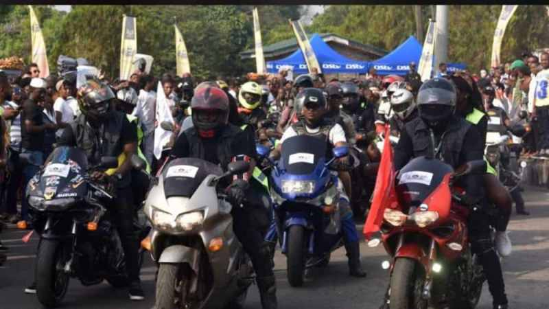 300 Power Bikers Storm Calabar