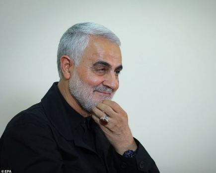 Graphic Photo Of The Hand Of Iran's General Soleimani Before And After The Attack