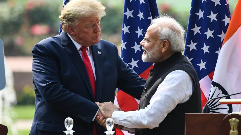 President Trump's Visit To India In Pictures