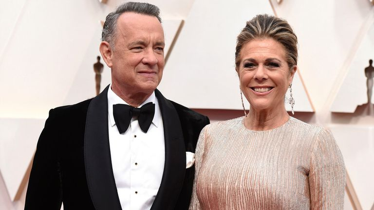 Actor Tom Hanks And Wife Rita Wilson Diagnosed With Coronavirus