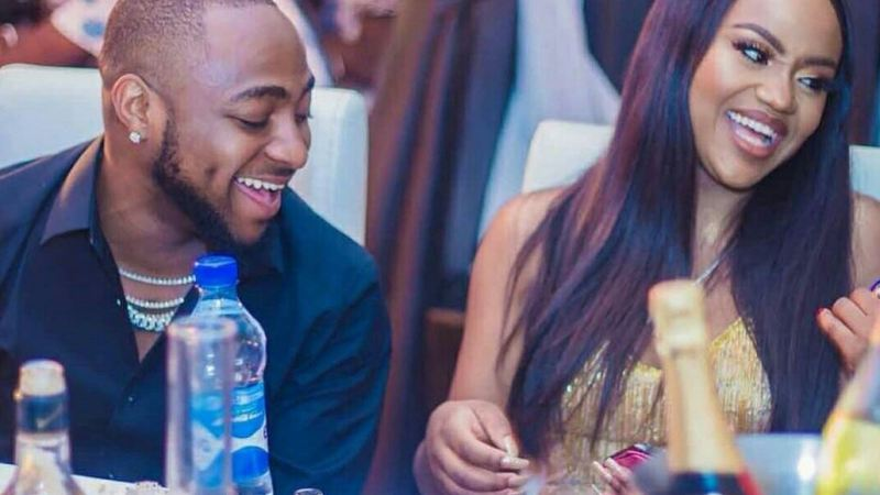 Davido's Fiancee, Chioma Tests Positive