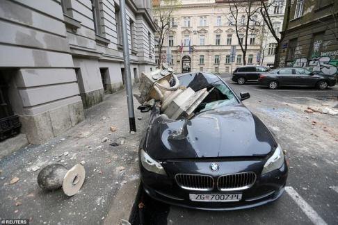 Dozens Of People Injured, 15-year-old Boy Killed, As 5.3 Magnitude Earthquake Hits Croatia