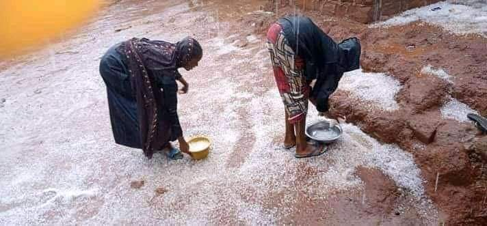 Ice Blocks Rains In Taraba